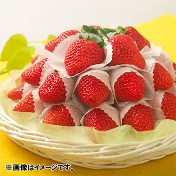 <長崎県産>ゆめのか かご盛りいちご 600g