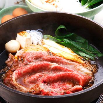 <京都モリタ屋> 京都肉肩ロ-スすき焼き