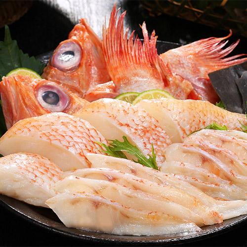 知床半島沖斜里産きんきの味わい鍋セット