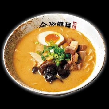 <函館 次郎長>味噌ラーメン