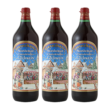 【送料無料】ホットワイン(ほんのり甘口赤ワイン) 3本セット