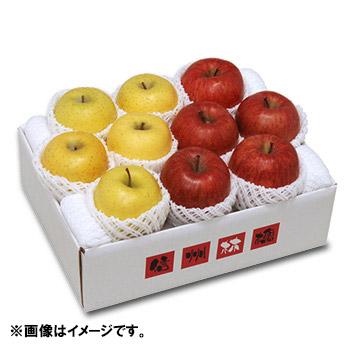 <長野県産>シナノスイート&シナノゴールド(各4玉~5玉)3kg
