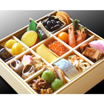 <ANAオリジナル箸付>生おせち 日本料理 一乃松 謹製おせち一段重