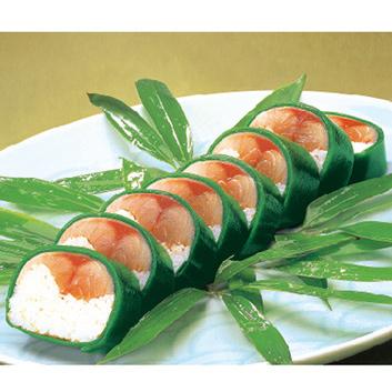 ★ANA機内食★<日本料理てら岡>博多鯖寿司・あなご寿司セット