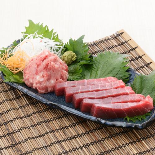 <三崎恵水産>本鮪赤身&すきみセット