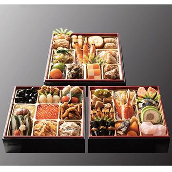 <日本料理てら岡>博多雅三段重