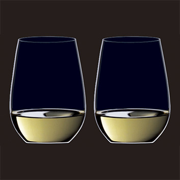 リーデル・オー リースリング/ソーヴィニヨンブランワイングラスペアセット