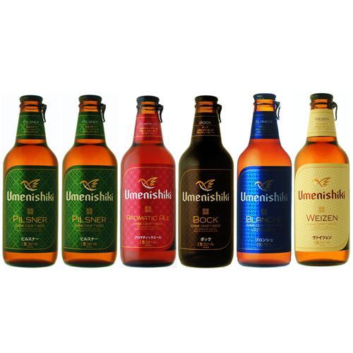 梅錦ビール6本セット