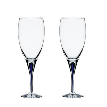 <Orrefors>インターメッツォ 赤ワイングラス2P