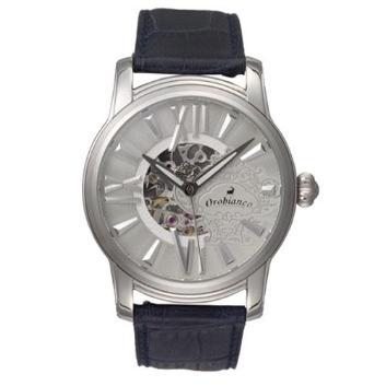 <オロビアンコ>自動巻き腕時計OR-0011 ネイビーグレー