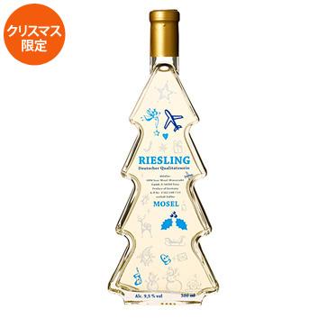 ☆オリジナル飛行機ラベル☆ クリスマスワイン【2018】(白ワイン)