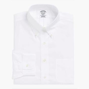 <ブルックス ブラザーズ>ノンアイロン ドレスシャツ/Pinpoint Oxford Regent Fit