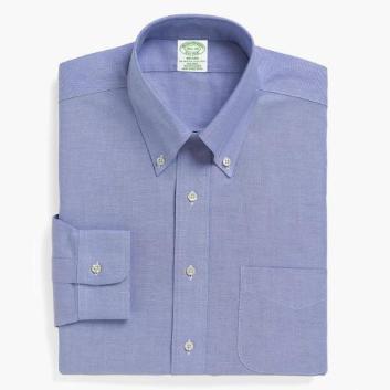 <ブルックス ブラザーズ>NON-IRON BROOKSCOOL ライトウェイトオックスフォード ポロカラーシャツ Milano Fit