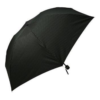 <ジェフ・バンクス>ストライプ柄折りたたみ傘