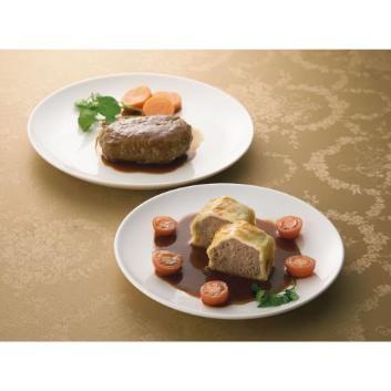 <ホテルオークラ>神戸牛ハンバーグビーフパイセット