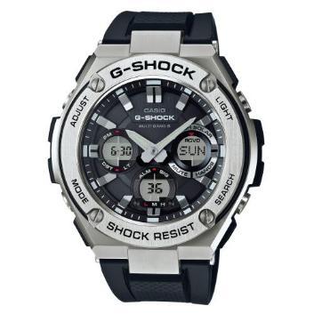 <カシオ>G-SHOCK G-STEEL 世界6局対応電波ソーラー GST-W110-1AJF