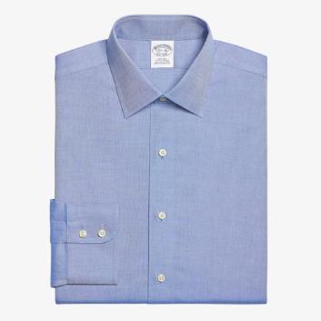 <ブルックス ブラザーズ>LUXURY NON-IRON ロイヤルオックスフォード ドレスシャツ Regent Fit