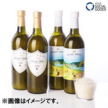 【新米】こしひかり『コタキホワイト(小滝米)』 ANAオリジナルギフトボトル620g×4本