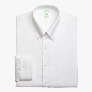 <ブルックス ブラザーズ>NON-IRON ストレッチコットン ソリッド ドレスシャツ Milano Fit