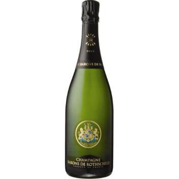 <バロン・ド・ロスチャイルド>ブリュット 【NV】ハーフボトル ボックス付き 白シャンパン (エノテカ)