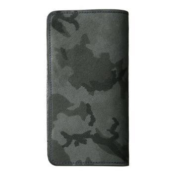 <メゾンタクヤ>iPhone7コンボケース カモフラージュゴート/GY/Dパープル