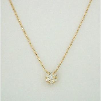<グランブルー>K18ダイヤモンドペンダント