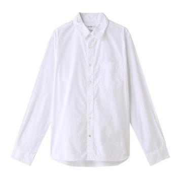 <フレッド・シーガル>120/2 THOMAS MASONシャツ ホワイト