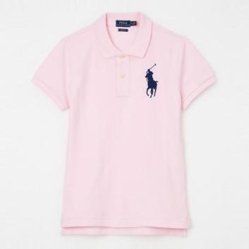 <ラルフ ローレン>スキニー フィット Big Pony ポロシャツ