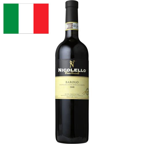 <カーサ・ヴィニコラ・ニコレッロ>バローロ【2008】(赤ワイン)