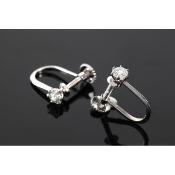 【期間限定特別企画】<髙島屋オリジナル企画>0.2ctダイヤモンドイヤリング