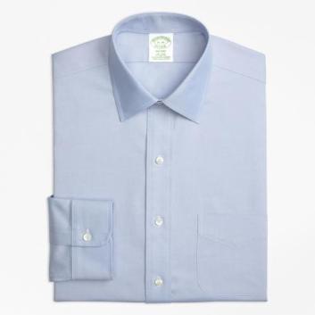 <ブルックス ブラザーズ>ノンアイロン ストレッチ ピンポイントオックスフォード ドレスシャツ Milano Fit