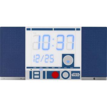 <リズム時計>Bluetoothスピーカー搭載クロックTOKIOTO 「STAR WARS」R2-D2(TM)