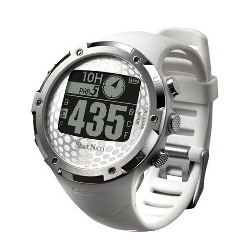 <ShotNavi>腕時計型GPSゴルフナビ W1-FW