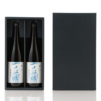 【ANAオリジナルラベル】<一ノ蔵>特別純米酒辛口2本セット(箱入り)