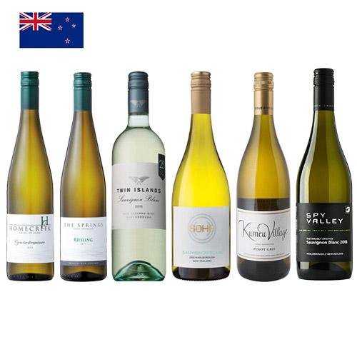 【送料無料】ニュージーランドといえば白ワイン!飲み比べ6本セット