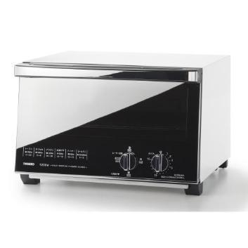 <ツインバード>ミラーガラスオーブントースター (TS-4047W)