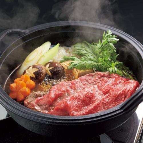 「米澤佐藤畜産」米沢牛すき焼き用