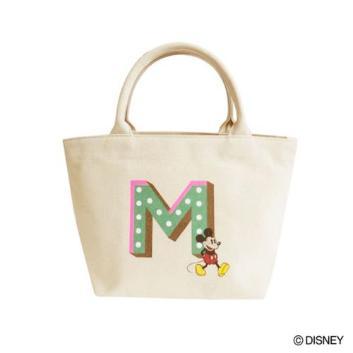 <アコモデ>ミッキーマウス/イニシャルミニバッグ