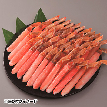 4Lサイズ生冷凍ずわい蟹棒肉