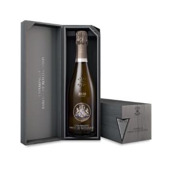 <シャンパーニュ・バロン・ド・ロスチャイルド>ブラン・ド・ブラン・ヴィンテージ・ボックス【2008】白シャンパン(エノテカ)