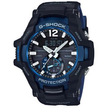 <カシオ>G-SHOCK GRAVITYMASTER Bluetooth搭載ソーラーウォッチ GR-B100-1A2JF