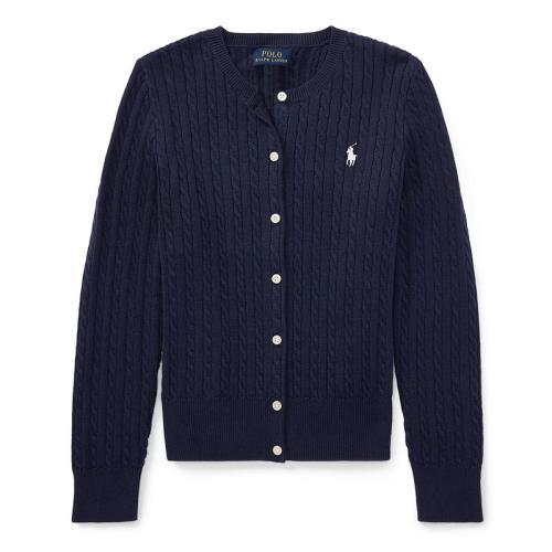 <ラルフ ローレン>ガールズ ミニケーブル セーター