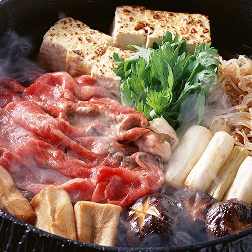 <京都肉の大橋亭>近江牛リブロースすき焼き用