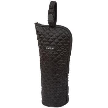 キルティング 保冷ワインバッグ 縦型(ブラック)