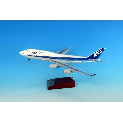 <ANAオリジナル>NH20129 1:200 747-400  JA8958 ギアつき ABS樹脂 スナップフィットモデル