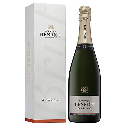 【数量限定プレゼント付】<アンリオ>シャンパーニュ ブリュット スーヴェラン【NV】(白シャンパン)