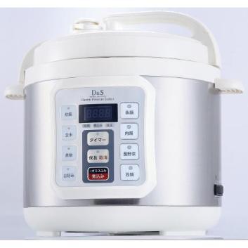 <D&S>家庭用マイコン電気圧力鍋4L