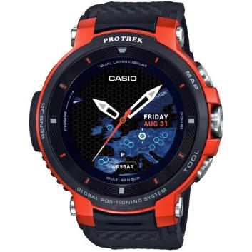 <カシオ>Smart Outdoor Watch PROTRECK Smart WSD-F30-RG(オレンジ)