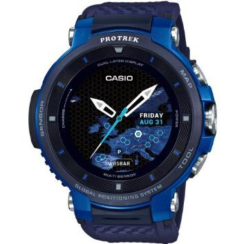 <カシオ>Smart Outdoor Watch PROTRECK Smart WSD-F30-BU(ブルー)