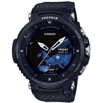 <カシオ>Smart Outdoor Watch PROTRECK Smart WSD-F30-BK(ブラック)